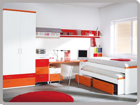 Compartiendo la habitaci n - Decoracion dormitorios juveniles modernos ...