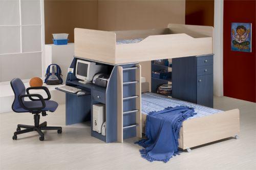 Compartiendo el dormitorio de los ni os - Habitacion juvenil nino ...