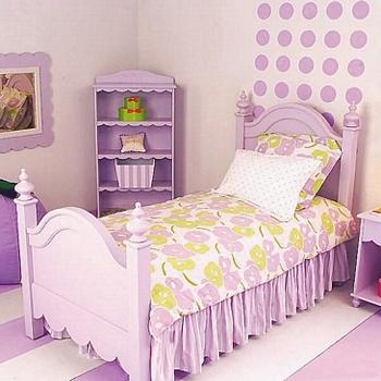 Habitación en color Lila