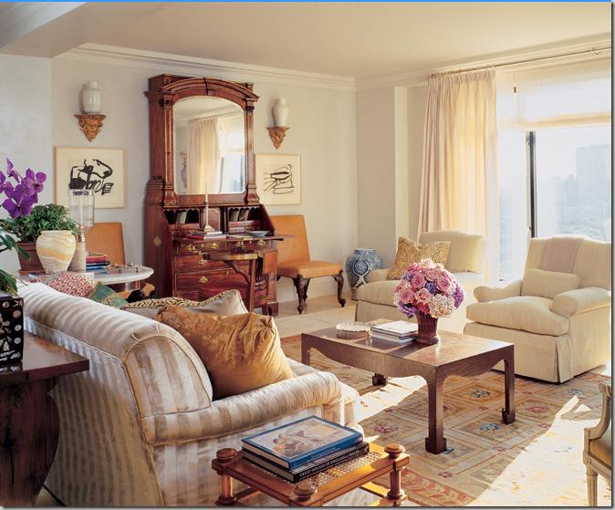 decoracao de interiores estilo romântico : decoracao de interiores estilo romântico:Michael Smith Interior Design