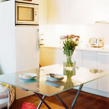Ideas problemas de espacio for Cocina comedor pequena