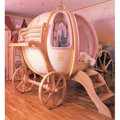 Una cama de cuento de hadas