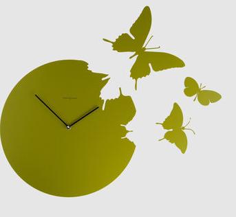 Reloj con mariposas