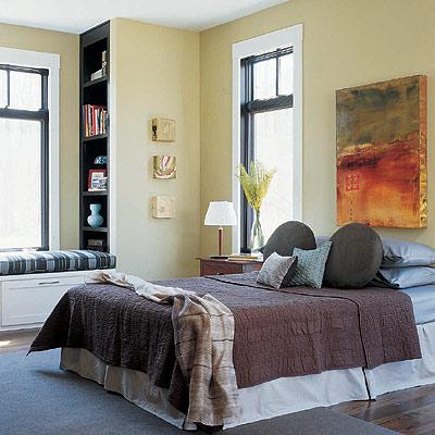 Tonos neutros en el dormitorio for Decoracion de hogar imagenes