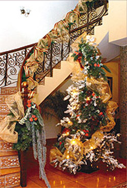 Decorando las escaleras