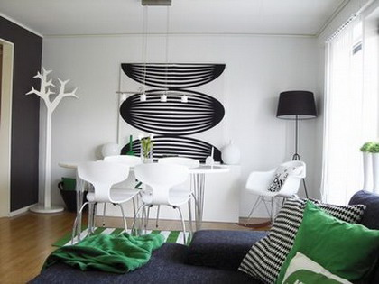 Verde for Diseno living comedor moderno