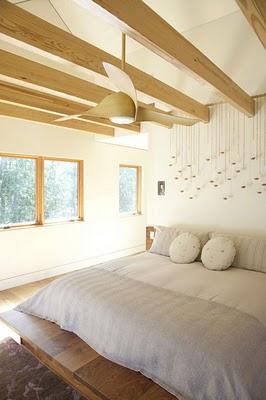 Un blanco dormitorio
