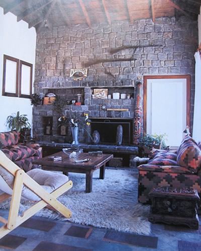 Una casa con estilo mexicano