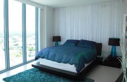 Ideas para decorar la casa de color azul