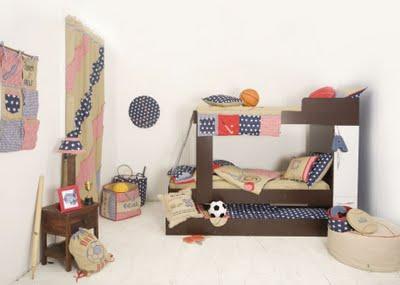 Algunas ideas para decorar la habitaci n infantil - Camas altas ninos ...