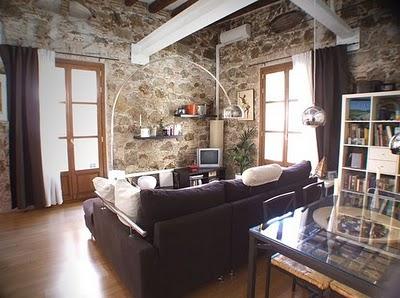 Un apartamento con estilo moderno r stico - Decoracion rustico moderno ...