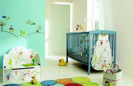 Para decorar el dormitorio del beb - Ideas para pintar una habitacion de bebe ...