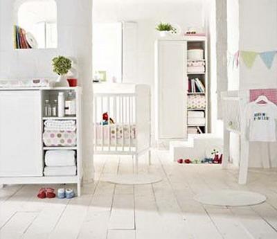 Para decorar el dormitorio del bebé