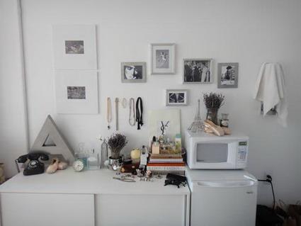 Peque o apartamento blanco for Ideas para un apartamento pequeno