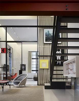 Un amplio loft