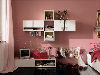 Habitaciones juveniles de color rosa parte ii Habitaciones juveniles rosa