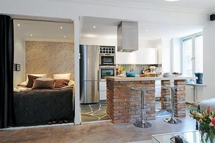 Moderno apartamento   decoactual.com