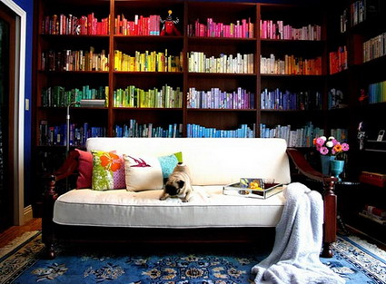 Decorando con libros