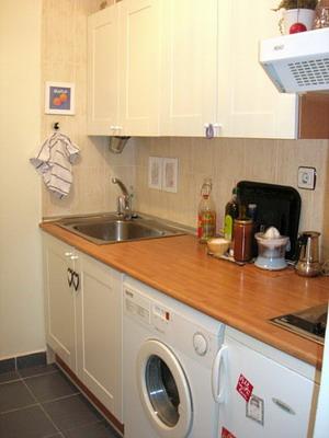 Una peque a casa con detalles - Cocina minimalista pequena ...