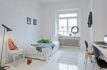 Ideas para las habitaciones - Habitacion gris y blanca ...