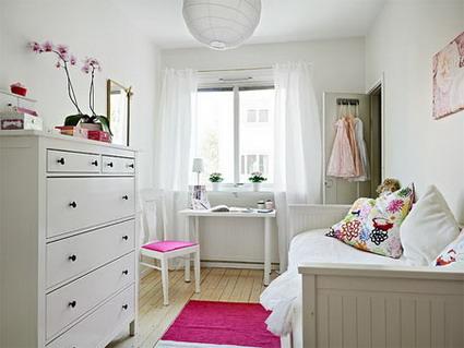 Habitacion ni as for Decoracion habitacion blanca