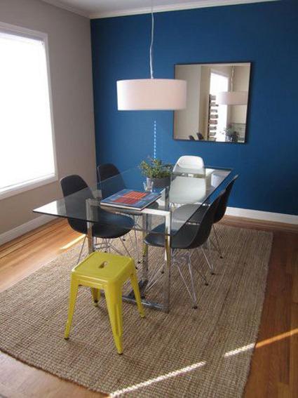 Un toque de color para tu comedor - DecoActual.com - DecoActual.com