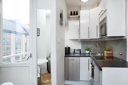 Poco espacio y muchas ideas for Ideas para cocinas con poco espacio
