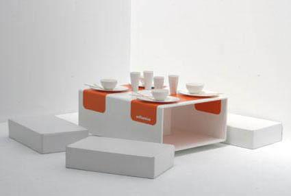Comedores compactos for Asientos para comedor