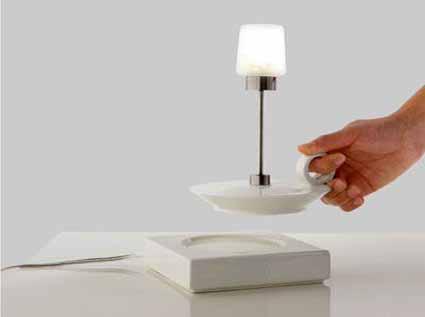 L mparas blancas para tu mesa de noche - Lamparas de mesa originales ...