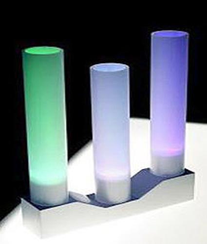 L mparas de colores para tu mesa de noche for Diseno de mesa de noche