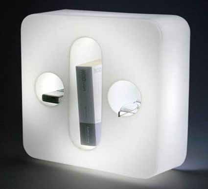 Lámparas blancas para tu mesa de noche