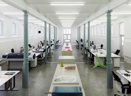 Una oficina a todo diseño