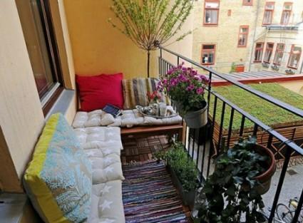 Terrazas y balcones urbanos