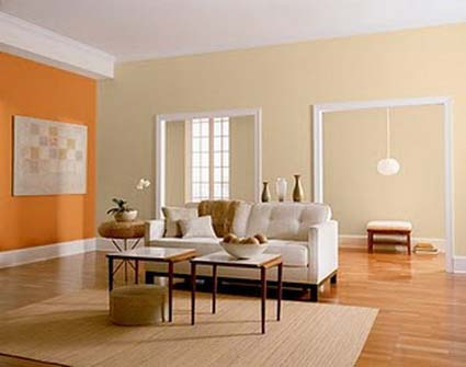 Colores naranja para tu hogar