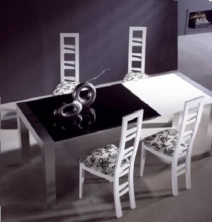 Estilos de mesas de comedor for Como hacer sillas de madera para comedor