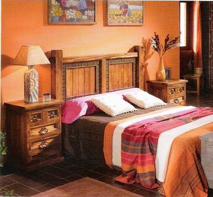 Muebles r sticos en casa - Decoracion habitaciones rusticas ...