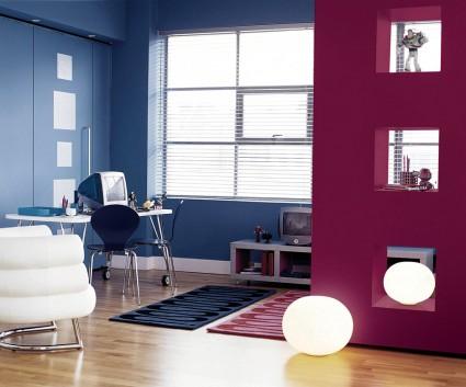 Elige el color adecuado para cada ambiente - Gama de colores para interiores ...