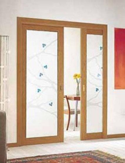 Dise o de puertas correderas - Puertas correderas para separar ambientes ...