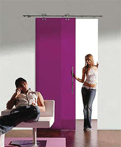 Dise o de puertas correderas - Como colocar una puerta corrediza ...