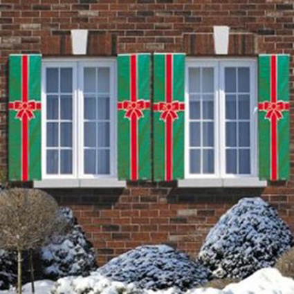 Decorar las ventanas en navidad - Decoracion navidena exterior ...