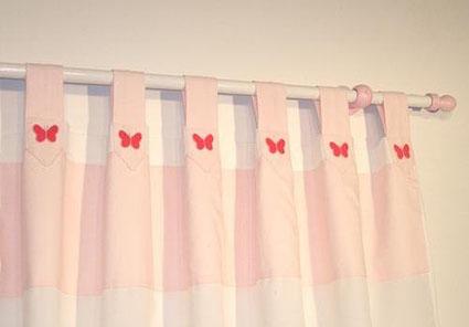Decorar cortinas ni a imagui - Cortinas infantiles nina ...