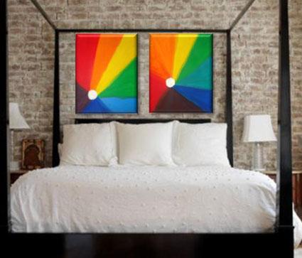 Cuadros decorativos abstractos minimalistas modernos and - Cuadro decorativos modernos ...