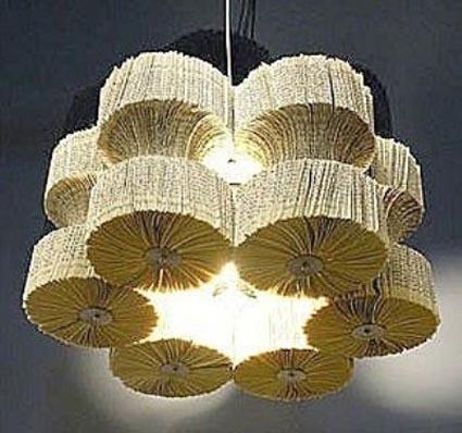 Lámparas de papel con estilo