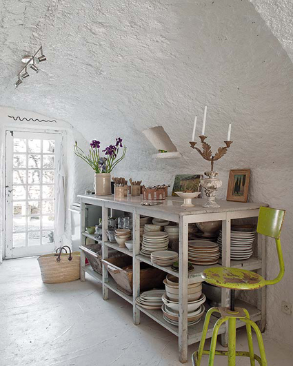 Una casa r stica en la provenza francesa - Decoracion rustica chic ...