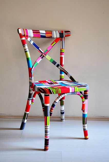sillas recicladas On sillas recicladas