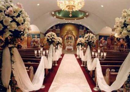 Decoración para tu boda en la iglesia