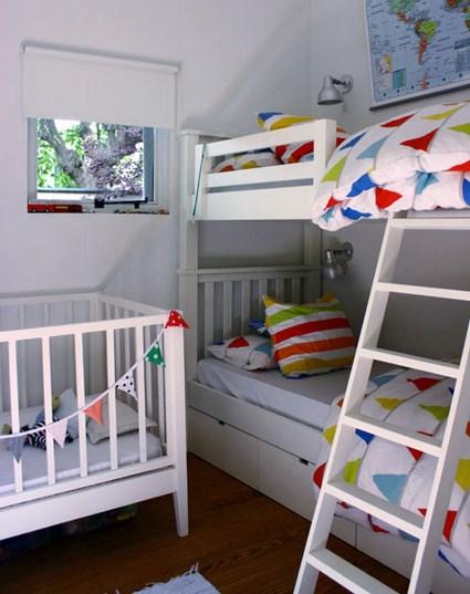 Dise os en una casa encantadora - Literas para habitacion pequena ...