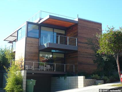Casas ecol gicas for Casas con puertas de vidrio