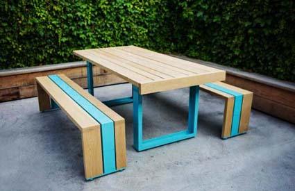 Ideas de comedores para exteriores for Comedor para jardin
