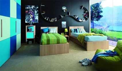 Consejos para decorar la habitación de los jóvenes